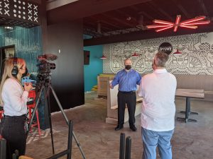 Ted's Talks Reopening with The Oklahoman