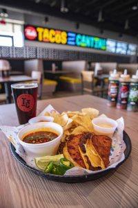 Ted's Tacos and Cantina Wet Taco Feature Item