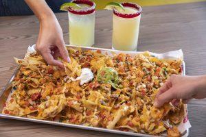 Ted's Tacos and Cantina sheet-pan nachos